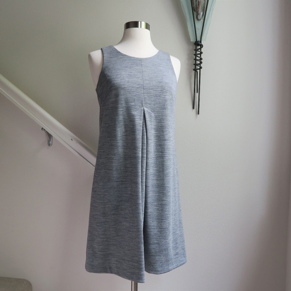 Kensie Dresses & Skirts - Kensie Grey Wool Blend Knit Swing Dress